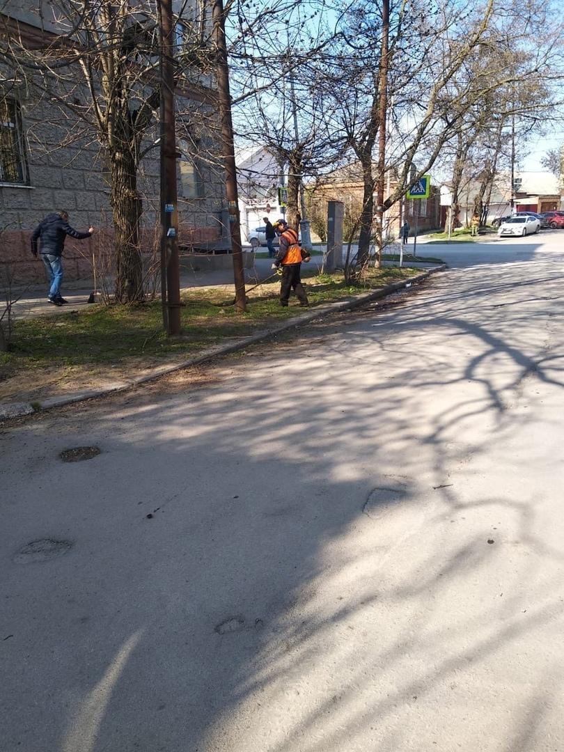 МКУ «Благоустройство»: В Таганроге выполняются работы по содержанию зеленых насаждений