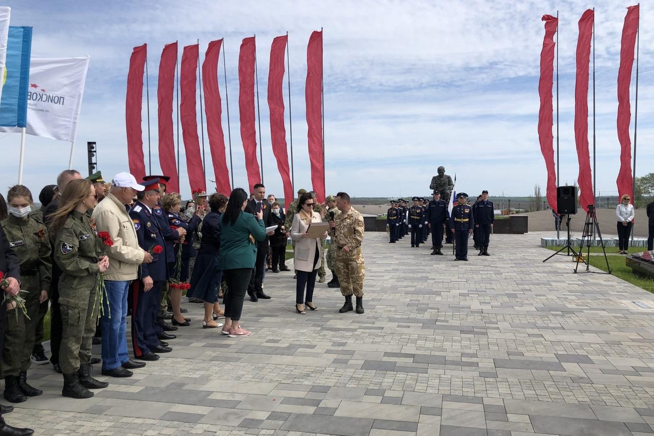 Останки 88 воинов, погибших в годы ВОВ, захоронены на территории музейного комплекса «Самбекские высоты»