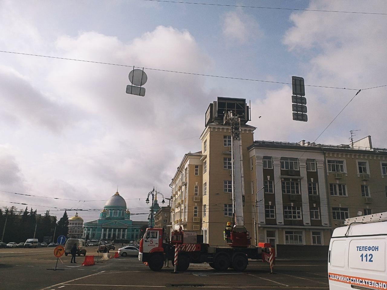 Завтра в центре Курска снова ограничат движение автотранспорта